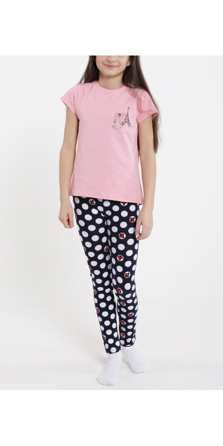 Tricou cu leggings lung